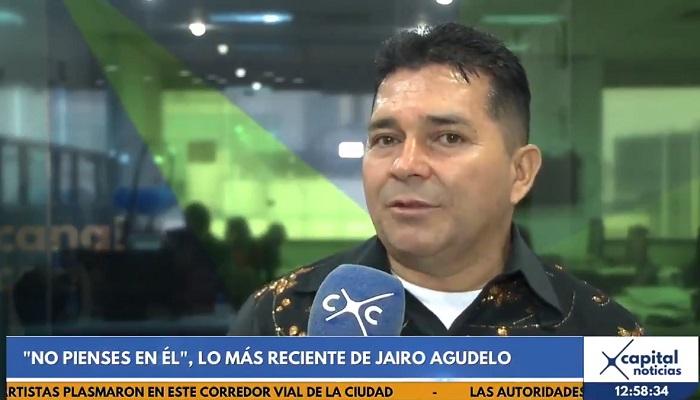 "Jairo Agudelo presenta en Canal Capital su tema musical ""No Pienses en él"""