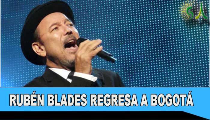 Rubén Blades regresa a Bogotá