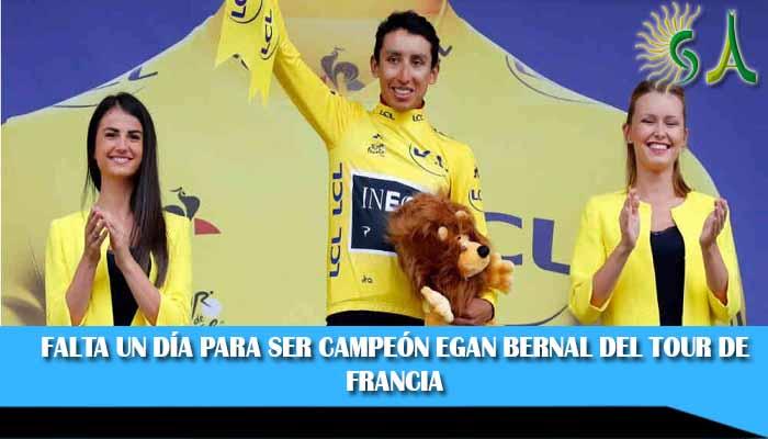 ¡Héroe Colombiano! Egan, campeón sobrado del Tour de Francia 2019