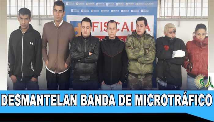 Autoridades desmantelan banda delincuencial dedicada al microtráfico en el norte de Bogotá