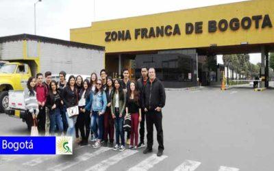 Gran jornada laboral en Zona Franca localidad de Fontibón