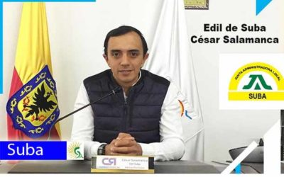 César Salamanca edil de Suba, a esta hora en el Magazín de la mañana