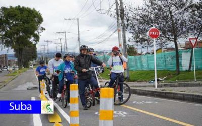 Nuevas ciclorrutas en las localidades de Engativá, Fontibón, Chapinero y Suba
