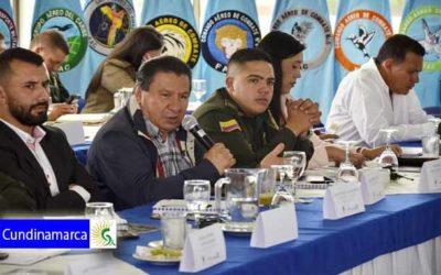 Primer Consejo de Seguridad y Convivencia Regional de Sabana Occidente