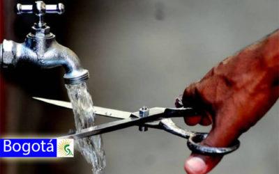 Cortes de agua para este martes 14 de enero en Bogotá