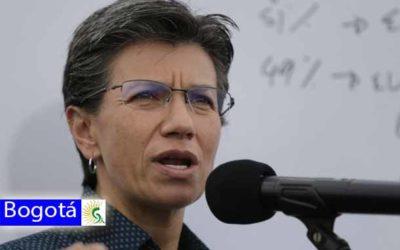 La alcaldesa de Bogotá Claudia Nayibe López anuncia plan candado en Bogotá por amenazas del ejército de liberación nacional ELN