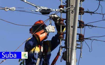 5 barrios de Suba sin energía este miércoles 22 de enero