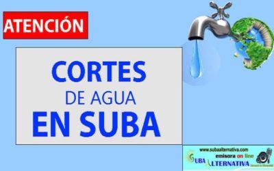 Más de 5 barrios en Suba sin agua este miércoles 5 de febrero