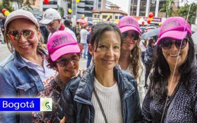 Los docentes cumplieron su acuerdo y marcharon pacíficamente por la ruta acordada en Bogotá