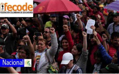 """""""No queremos más guerra, queremos un presente y futuro para nuestros niños"""": Miguel Ángel Pardo, secretario de asuntos educativos, pedagógicos y científicos de Fecode"""