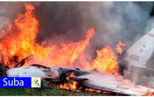 ¡Atención! una avioneta cae cerca del aeropuerto Guaymaral