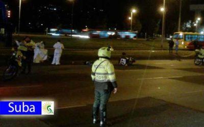 Muere ciclista atropellado por tractomula en la autopista norte con 220 entre las localidades de Usaquén y Suba