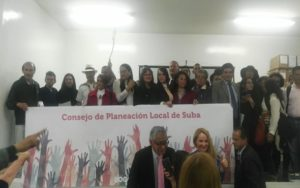 CPL: Instalado consejo local de planeación local en suba
