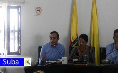Edil Cesar Salamanca: Inconformidad por el servicio de Área Limpia en la localidad de Suba